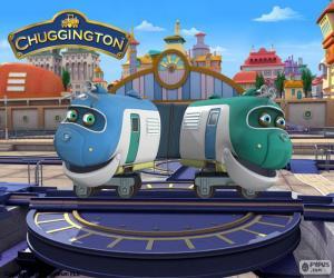 Puzzle de Hoot y Toot, Chuggington