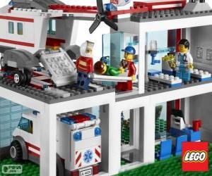 Puzzle de Hospital de Lego