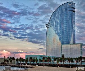 Puzzle de Hotel W Barcelona