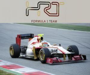 Puzzle de HRT F112 - 2012 -