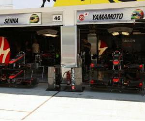 Puzzle de HRT, Gran Premio de Hungría 2010