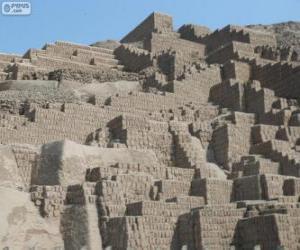 Puzzle de Huaca Pucllana, Lima, Perú