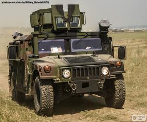 Puzzle de Humvee del ejército