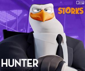 Puzzle de Hunter, Cigüeñas