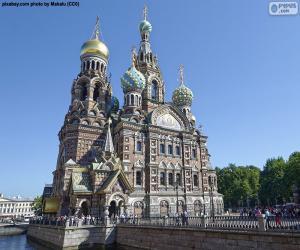 Puzzle de Iglesia de la Resurrección de Cristo, Rusia