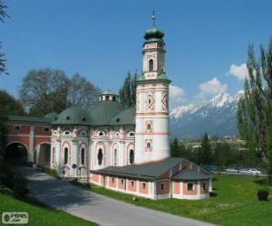 Puzzle de Iglesia de San Carlos, Volders, Austria