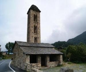 Puzzle de Iglesia de San Miguel de Engolasters, Andorra