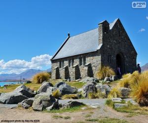 Puzzle de Iglesia del Buen Pastor, NZ