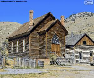 Puzzle de Iglesia Metodista, Estados Unidos