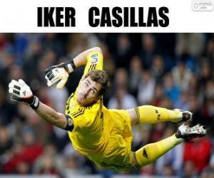 Puzzle de Iker Casillas