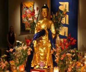 Puzzle de Imagen de Buda