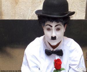 Puzzle de Imitador de Charlie Chaplin
