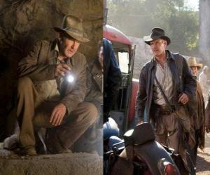 Puzzle de Indiana Jones es uno de los aventureros más famosos del mundo