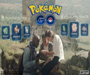 Puzzle de Intercambio Pokémon GO