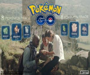 Puzzle de Intercambio Pokémon GO