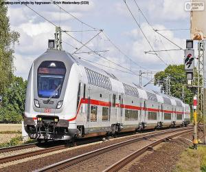 Puzzle de Intercity IC 2, Alemania