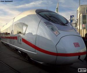 Puzzle de InterCityExpress, Alemania