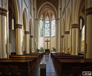 Puzzle de Interior de iglesia