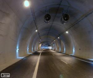 Puzzle de Interior de túnel