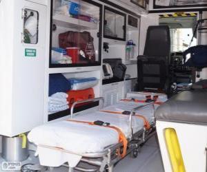 Puzzle de Interior de una ambulancia