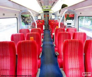 Puzzle de Interior vagón