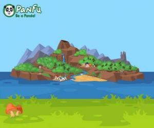 Puzzle de Isla de Panfu