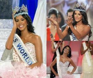 Puzzle de Ivian Lunasol Miss Mundo 2011