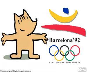 Puzzle de J. Olímpicos Barcelona 1992