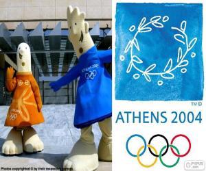 Puzzle de J. Olímpicos Atenas 2004