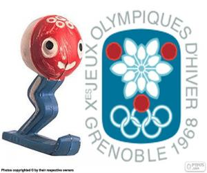 Puzzle de J. Olímpicos Grenoble 1968