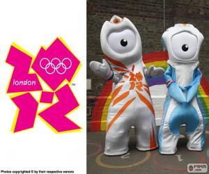 Puzzle de J. Olímpicos Londres 2012