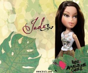 Puzzle de Jade: - Kool Kat - es Asiatica, con ojos verdes. Su segundo nombre es Marie, representa la sabiduría.