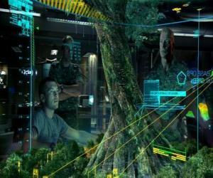 Puzzle de Jake Sully y el coronel Quaritch estudiando el Árbol Madre