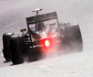 Puzzle de Jarno Trulli - Lotus - Spa-Francorchamps 2010