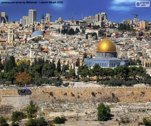 Puzzle de Jerusalén, Israel