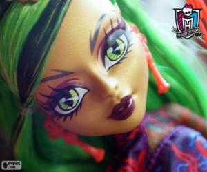 Puzzle de Jinafire Long, Monster High