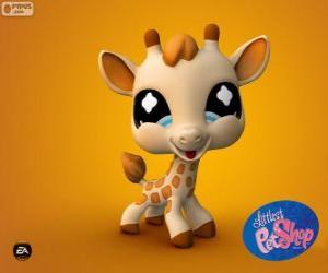 Puzzle de Jirafa de Littlest PetShop