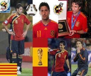 Puzzle de Joan Capdevila (El incombustible) defensa Selección Española