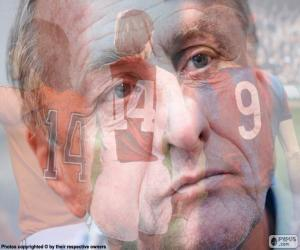 Puzzle de Johan Cruyff (1947-2016)