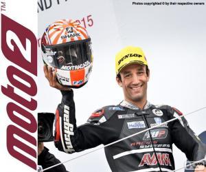Puzzle de Johann Zarco, Moto2 2015