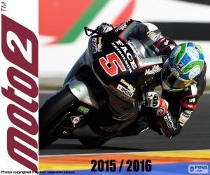 Puzzle de Johann Zarco, Moto2 2016