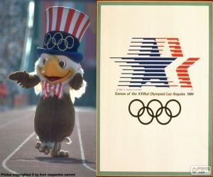 Puzzle de J.Olímpicos Los Ángeles1984
