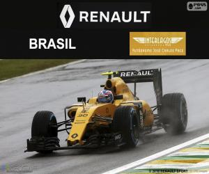 Puzzle de Jolyon Palmer, GP Brasil 16
