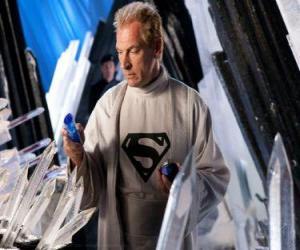 Puzzle de Jor-El  Científico y líder kryptoniano y padre biológico de Superman.