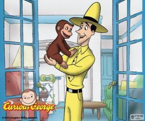 Puzzle de Jorge el curioso y Ted