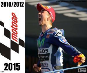Puzzle de Jorge Lorenzo, MotoGP 2015