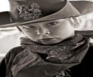 Puzzle de Joven Cowboy