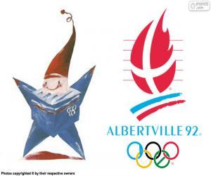 Puzzle de Juegos Olímpicos de Albertville 1992