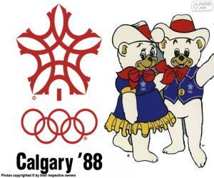 Puzzle de Juegos Olímpicos de Calgary 1988