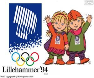 Puzzle de Juegos Olímpicos de Lillehammer 1994